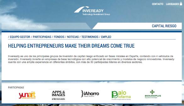 Inveready crea un nuevo fondo para invertir en empresas tecnológicas