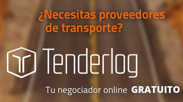 Tenderlog, tu negociador online de transporte y logística