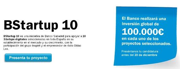 BStartup10 de Banco Sabadell con Toni Segarra y Dídac Lee