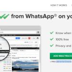 Gracias a MailTrack puedes tener el double-check ✓✓ de whatsapp en el email