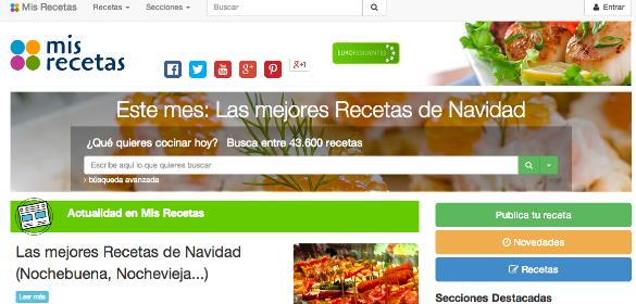 Cookpad, la mayor web japonesa de recetas de cocina, compra la española Mis-recetas