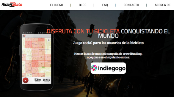 RiderState recurre al crowdfunding para financiarse