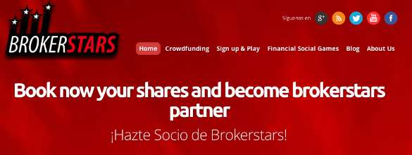 Brokerstars quiere financiarse a través de crowdfunding