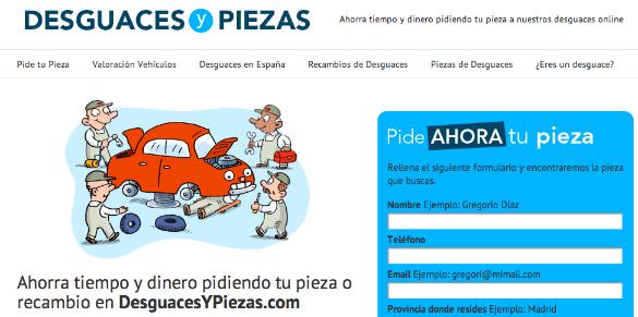 Desguacesypiezas.com gestiona más de 5.000 pedidos al mes
