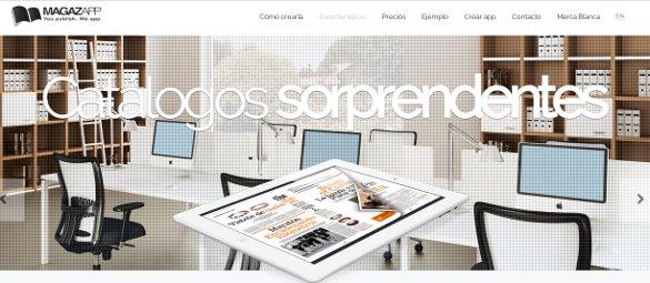 Magazapp convierte tu catálogo en app