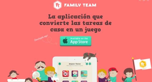 Family Team una aplicación de gran utilidad para que los niños participen en las tareas del hogar