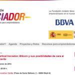 Evento de Iniciador Madrid dedicado a las oportunidades que ofrece Bitcoin para emprender