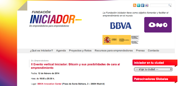 iniciador bitcoin
