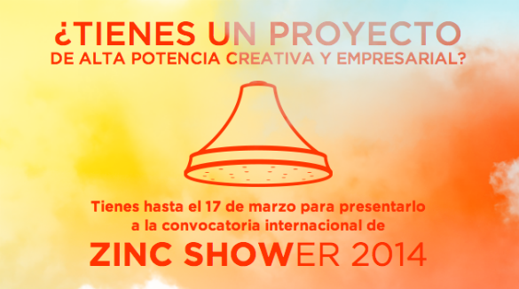 Llega la segunda convocatoria de Zinc Shower para impulsar las industrias culturales