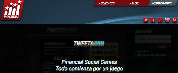 Brokerstars lanza el juego Tweet&Win para potenciar su campaña de crowdfunding