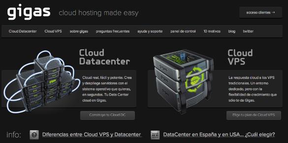 2 millones de euros de inversión en la empresa de cloud hosting Gigas