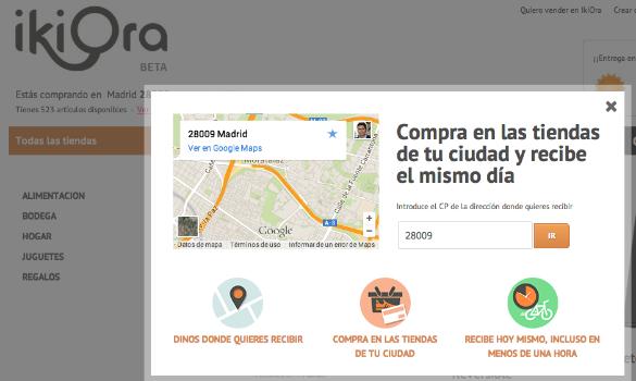 Inversión de 160.000 euros en ikiOra para que puedas comprar online y recibir en 1 hora