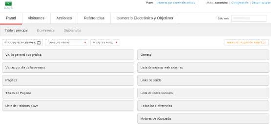 Loogic ofrece el primer SaaS personalizado de Piwik en español