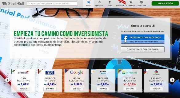 Startbull, el simulador de inversiones en bolsa llega a España
