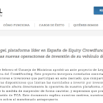 The Crowd Angel suspende temporalmente operaciones por la ley del Crowdfunding
