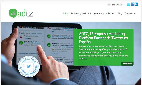 ADTZ se convierte en el primer Marketing Platform Partner de Twitter en España