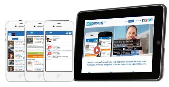 AirPersons licencia su la tecnología de videochat