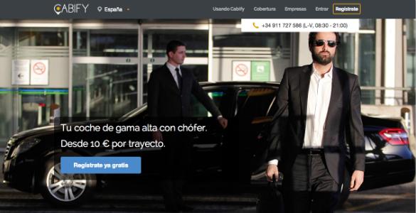5,79 millones de euros de inversión en Cabify