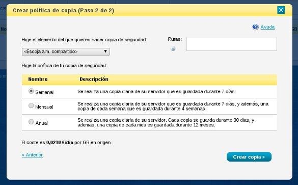 Copias de seguridad de tu plataforma online