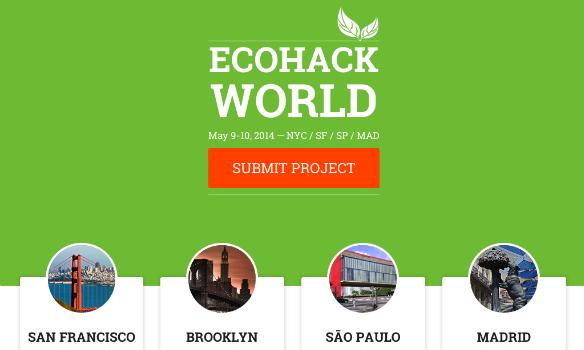 Ecohack, un hackaton para proteger el medio ambiente