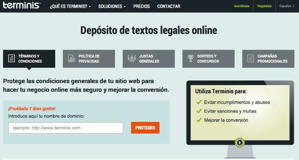 Terminis desarrolla tecnología para certificar, con validez legal, el contenido de cualquier web