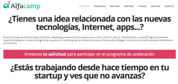 Alfacamp crea una red de aceleradoras por toda España