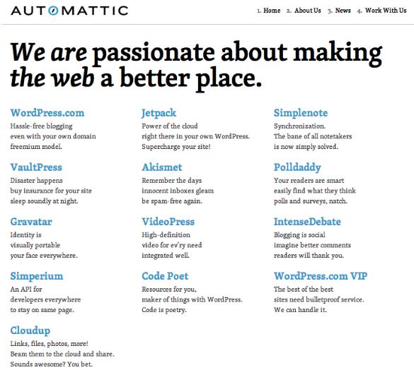 WordPress entra en el club del 1 billion