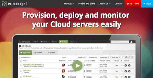 ECmanaged un SaaS para la gestión de servidores Cloud
