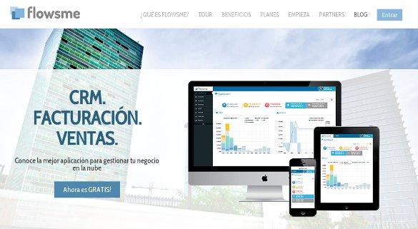 Flowsme busca su hueco como aplicación de facturación, ventas y CRM