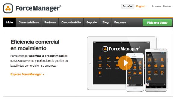 2,8 millones de inversión en la empresa de software para comerciales Force Manager
