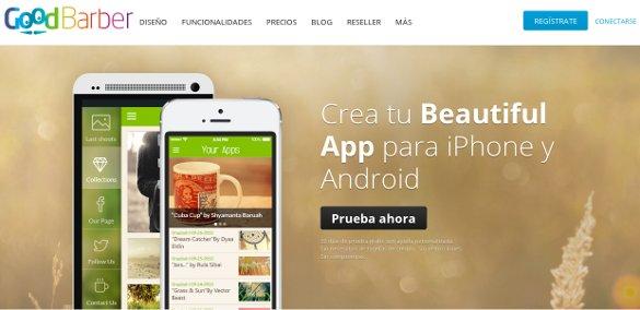 Goodbarber, beautiful apps para todos