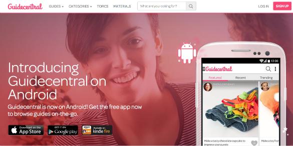 Guidecentral te ayuda a aprender desde una app