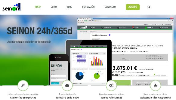 Seinon ofrece un software de gestión energética para profesionales