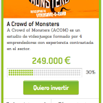 Entrevistamos a Ramon Nafria fundador de A crowd of Monster sobre su campaña de equity crowdfunfing