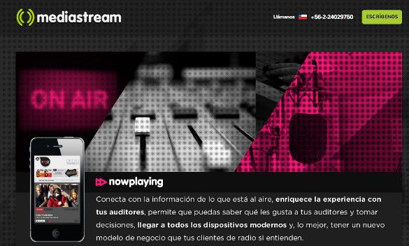 1,75 millones de dólares de inversión en la empresa chilena Mediastream
