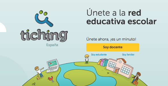 Tiching, la gran red mundial de recursos educativos