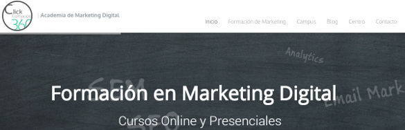 Nace Clickformacion360, formación especializada en marketing digital