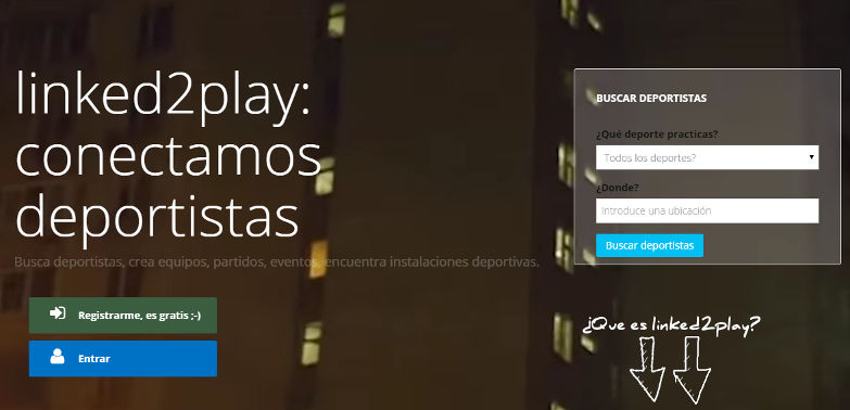 Linked2play conecta deportistas