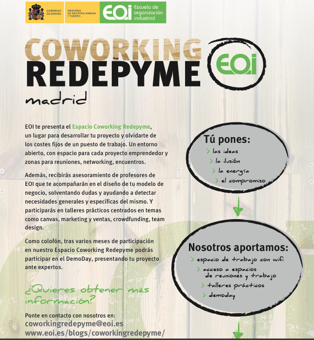 coworking redepyme eoi