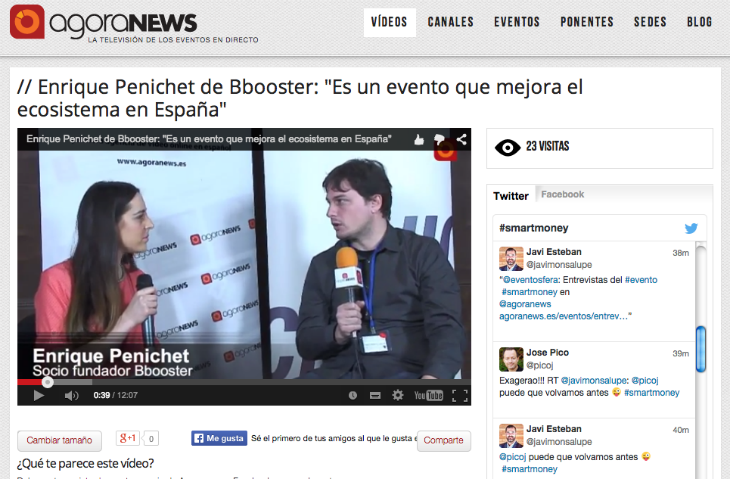 Entrevista a Enrique Penichet de la aceleradora Business Booster en Smart Money