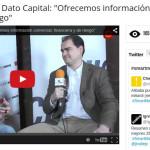 Entrevista a Eduardo Amo de Dato Capital en Smart Money