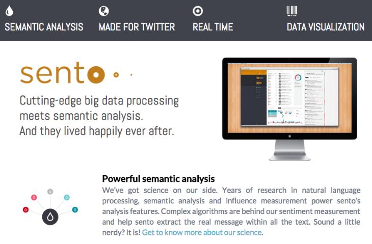 Sento: descubrimiento de contenidos basada en análisis semántico