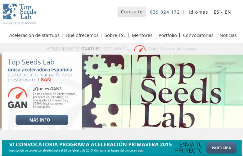 III Open Day de Top Seeds Lab y VI Convocatoria de aceleración
