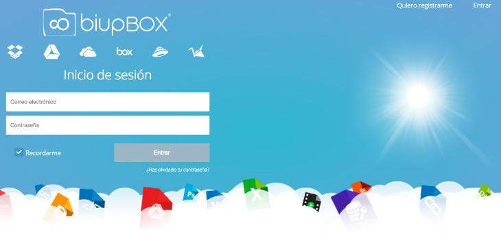 biupBOX: el agregador de nubes