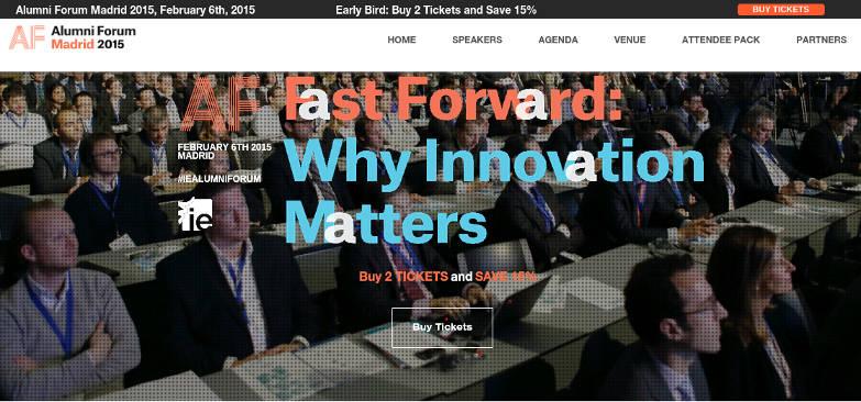 IE Alumni Forum, un evento de altura