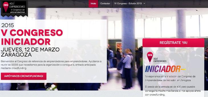 Iniciador celebra su quinto congreso de emprendedores en Zaragoza