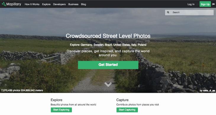 La startup sueca Mapillary recibe inversión de Sequoia Capital