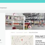 Startup Weekend Madrid abril 2015