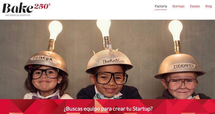 La factoría de startups Bake 250 busca 5 proyectos en los que invertir 300.000 euros