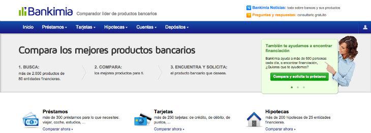 Entrevista sobre el gran éxito que está logrando el comparador financiero Bankimia